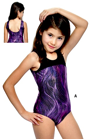 Basic Moves GY5712-Gym Tank Leotard-PURPLE