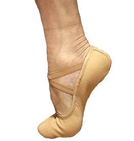 Fuzi SC801-Men Stretch Canevas Ballet Split Sole
