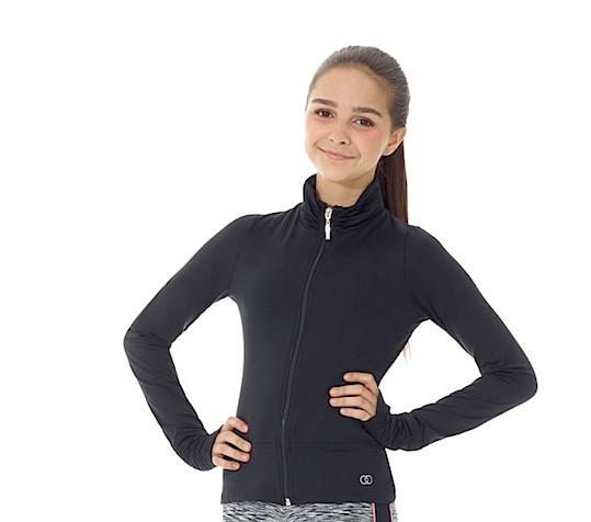 Mondor 3592-52-Front Zipper Jacket-BLACK