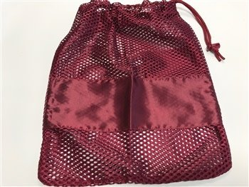 Pillow For Pointes SPSP-Mesh Drawstring Bag For Dance Shoes with Pocket For Gel Pad