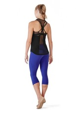 Bloch FT5021-ARYA-Open Mesh Panelled RacerBack Tank