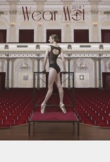 Wear Moi REGLISSE-Low Open Back Leotard With Fine Velour on Tulle-BLACK-XS