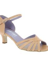 Merlet DANO-1300-Ballroom Shoe 2'' Suede Sole Metis Leather