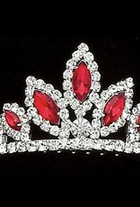Dasha 2803-Rhinestone with Color Tiara