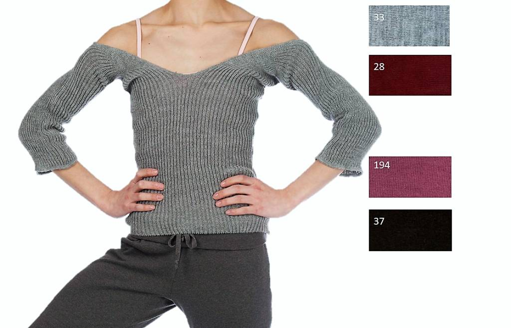 Intermezzo 6070-Jerleg Snug Crop Top-ONE SIZE