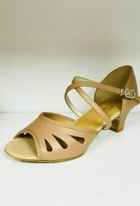 """SoDanca BL182-RADISON-Ballroom Shoes 1.5"""" Suede Sole Leather Upper"""