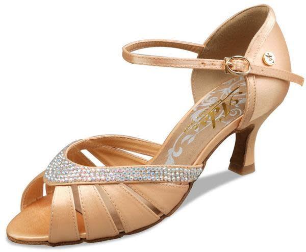 """Ads / A Plus Dance Shoes A-6801-Chaussure De Danse 2.5"""" Semelle Suède"""