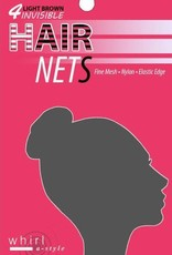 Whirl-A-Style HNET-Hair Net-BLACK-ONE SIZE