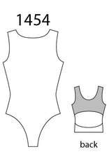 MotionWear 1454-383-Open Back Gym Leotard