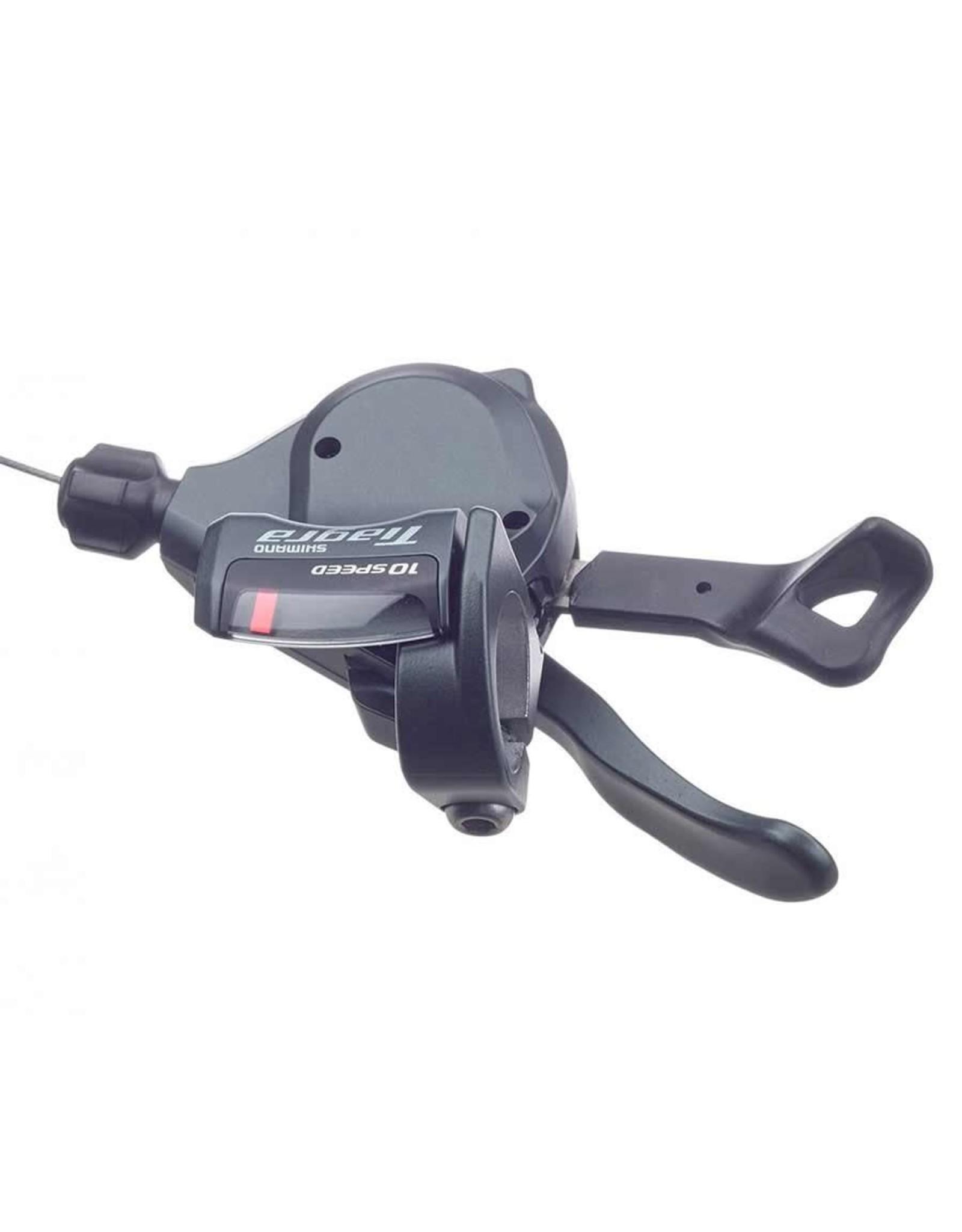 Shimano Shifter, Front, 3x - Shimano Tiagra SL-4703, Indexed, Trigger, Black