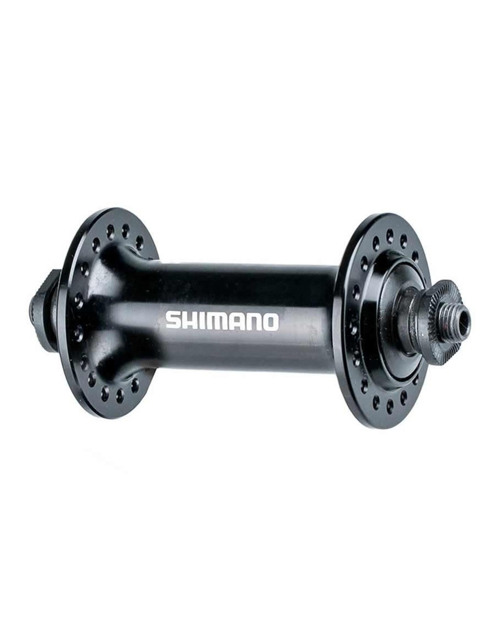 Shimano Hub, Front - Shimano HB-RS400, 100OLD, 32H, Black