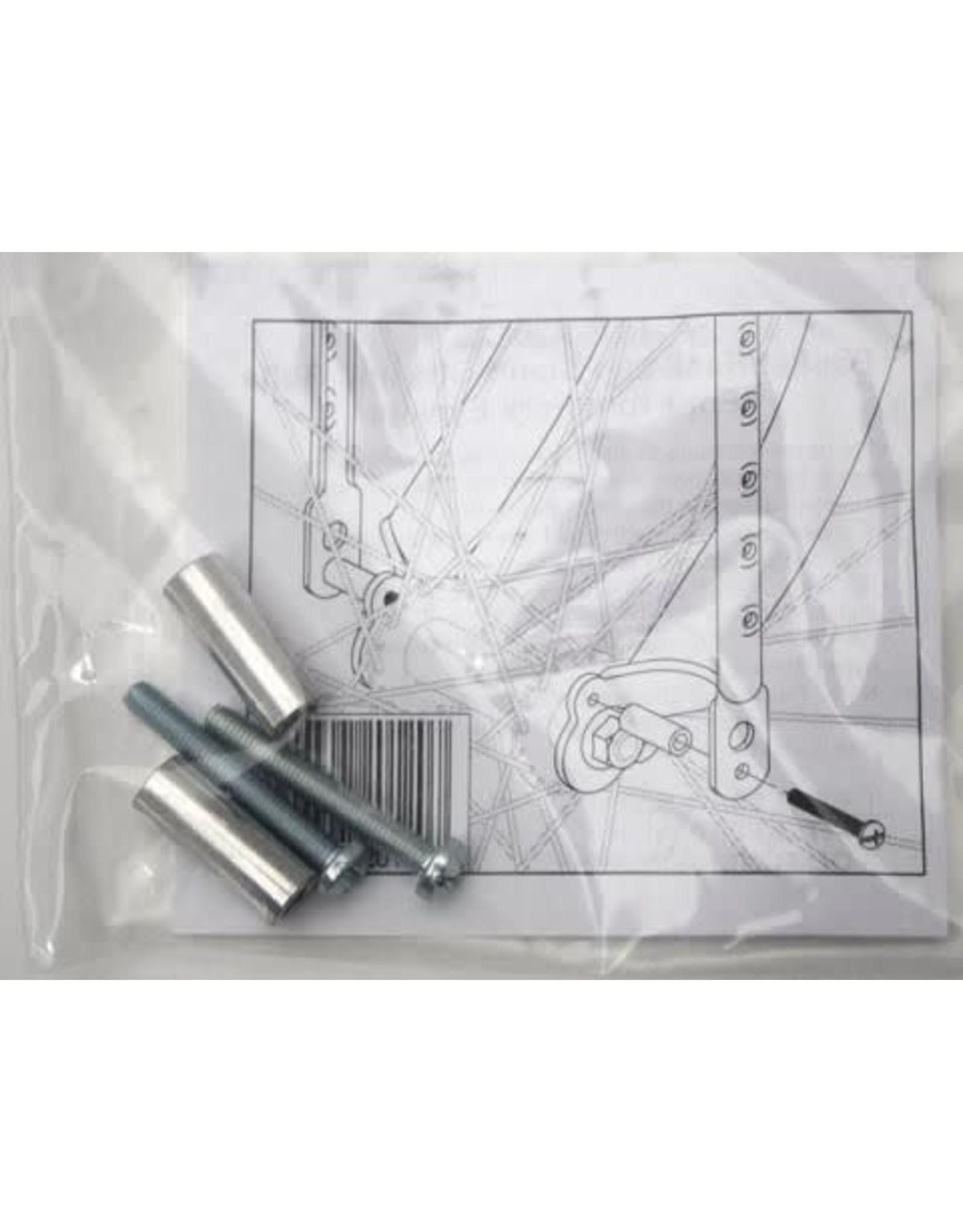 Wald Spacers, Fender/Rack/Fender - Wald Eyelet mounted spacing kit