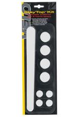 Velo Orange Velo StayTop Kit Chainstay & 8 Frame Savers Clear
