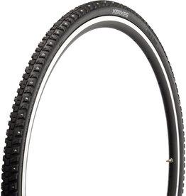 45NRTH 45NRTH Xerxes Tire - 700 x 30, Clincher, Steel, Black, 33tpi, 140 Carbide Steel Studs