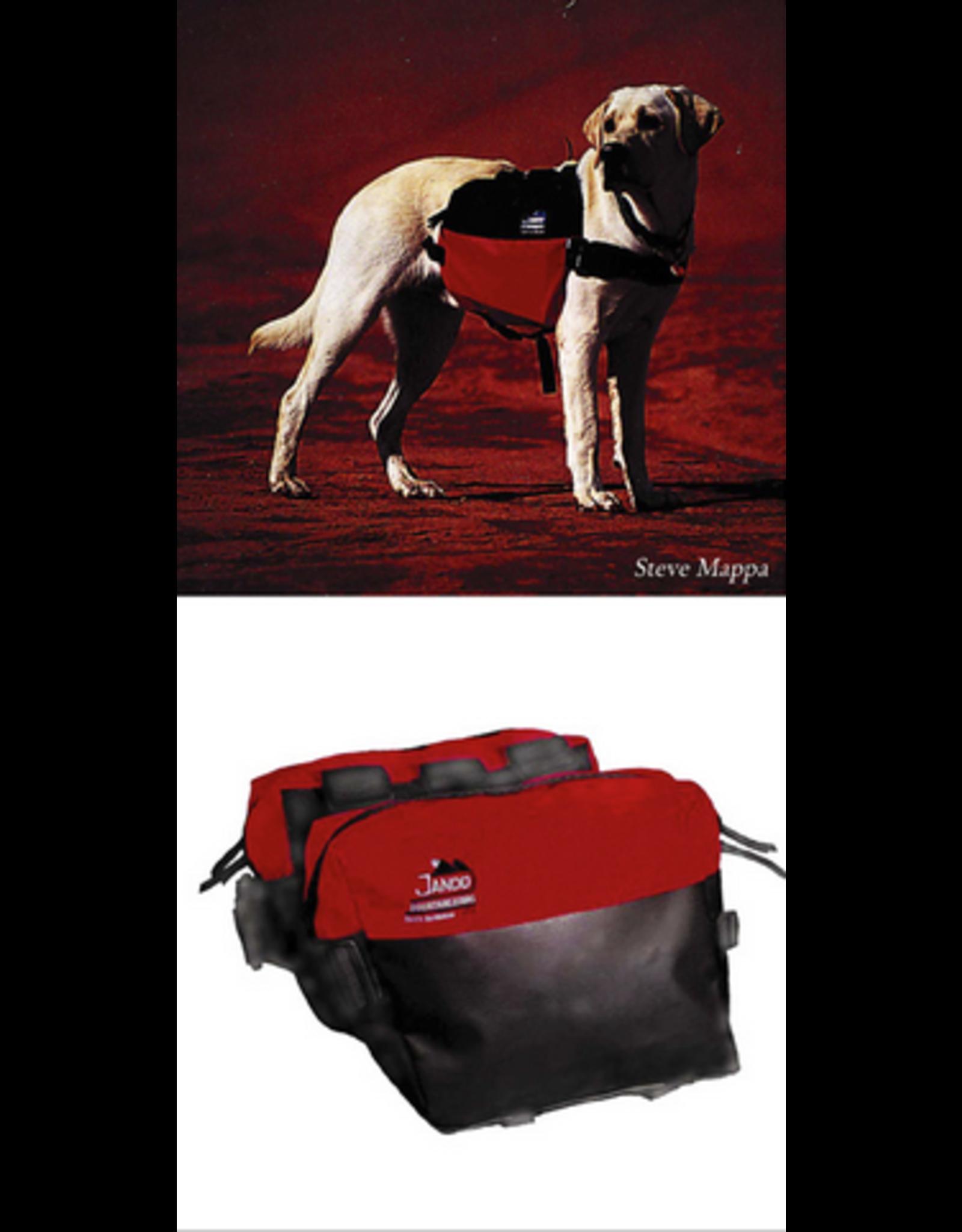 Jandd Accessory, Bag, Dog Pannier - Jandd Dog Pack Regular, Black