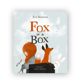 Fox in a Box book, hardcover