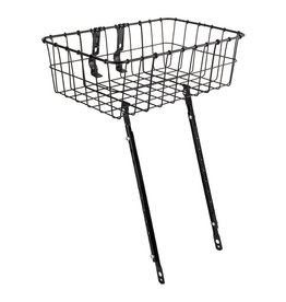 "Soma Basket, Front - Wald 1372, 15x10x4.75"", Multi-fit, Black"
