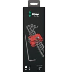 Wera Wera 073596 950/9 Hex-Plus 6 SB Ball End Metric L-key Clip Set 9-Piece
