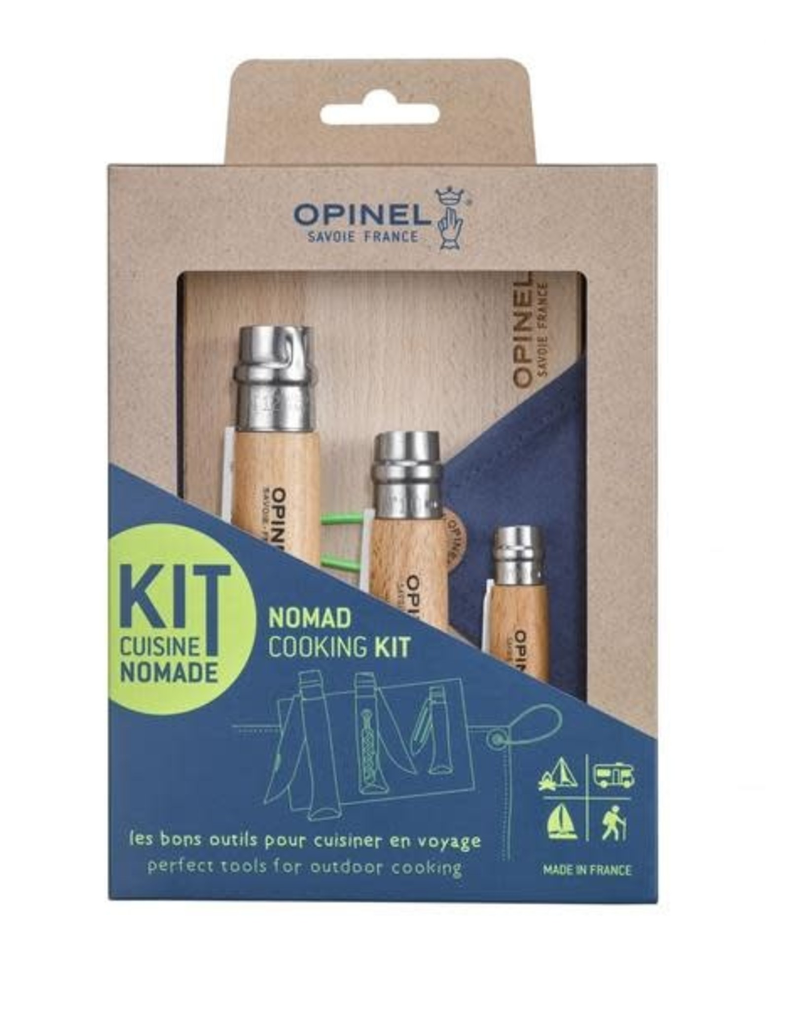 Opinel Opinel Nomad Cooking Kit Stainless