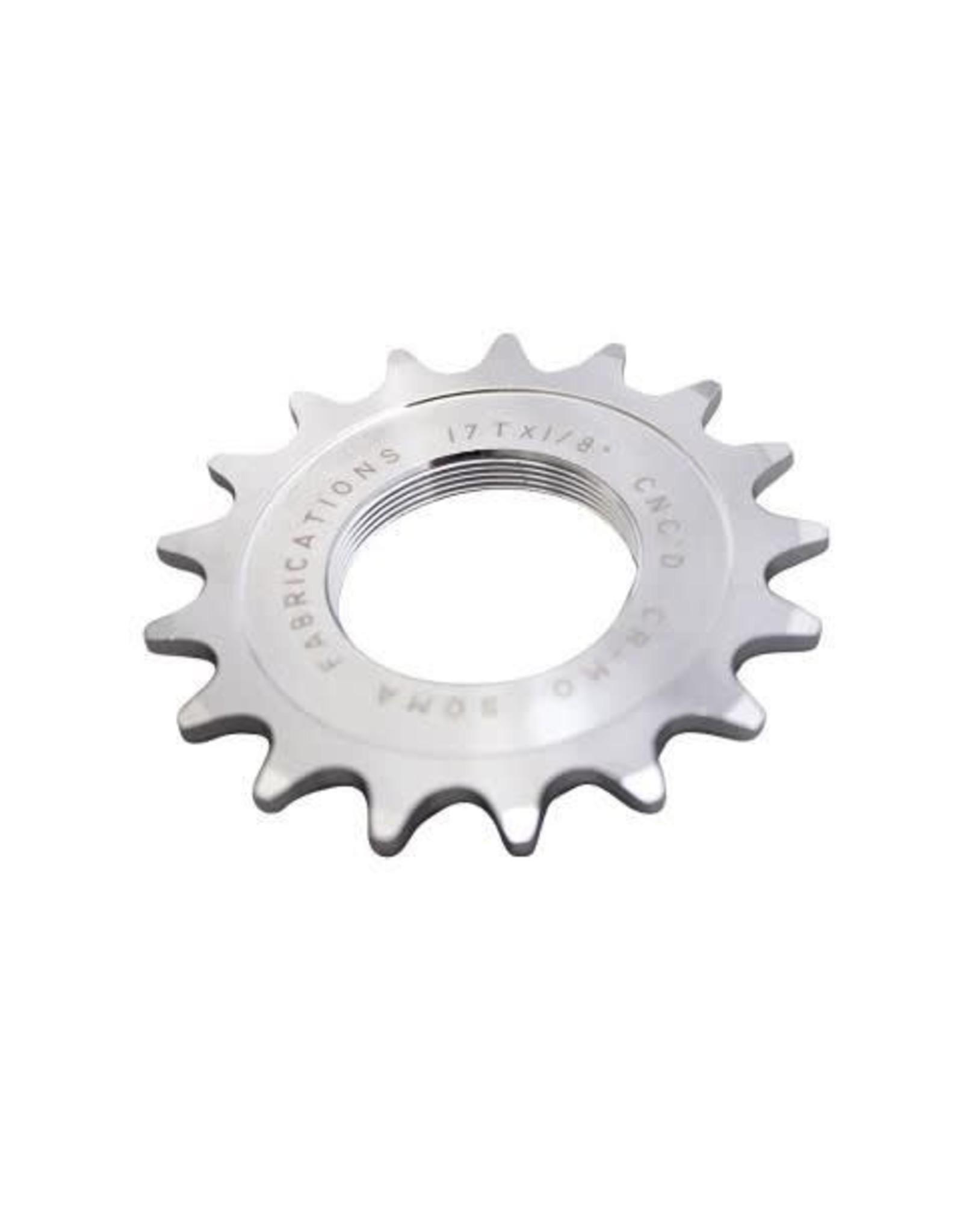 Soma Soma Track Cog, Chromoly Steel, Silver Chrome