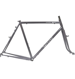 Velo Orange Frameset - Velo Orange Campeur, Grey, 57cm