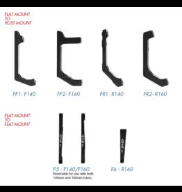TRP TRP Disc Brake Adaptor Flatmount-Postmount