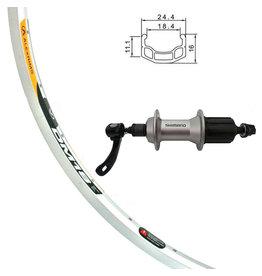 Damco Damco DM18 700C Silver Wheels