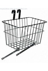"Wald Basket, Front - Wald 198, 14.5""x9.5""x9"", Multi-Fit, Black"