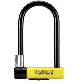 Kryptonite Lock, U - Kryptonite New York STD, U-Lock, Black/Yellow