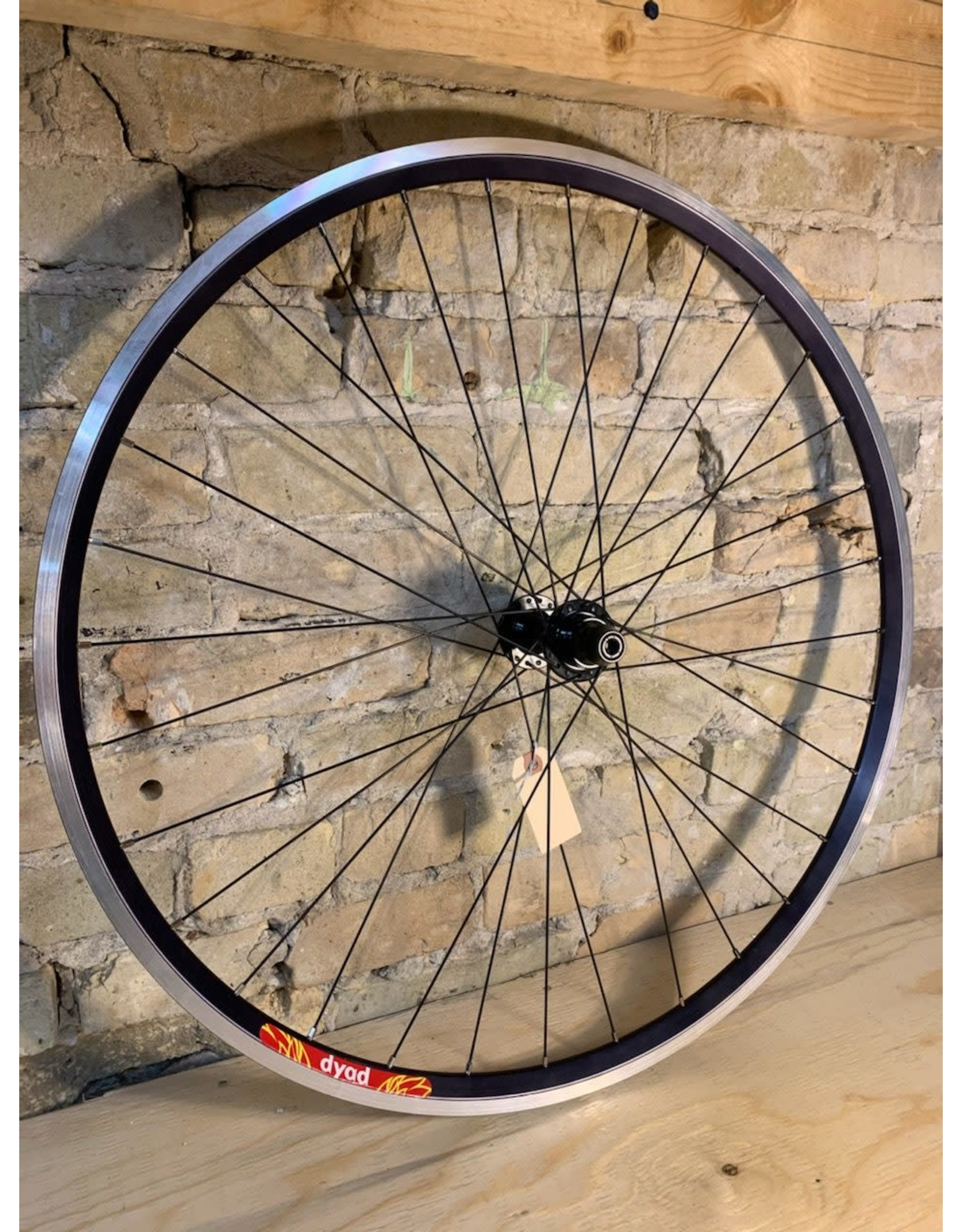 Natural Cycleworks Handbuilt Wheel Set - Velocity Dyad - Bassi Track - Double Butted Spokes