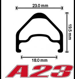 Velocity Velocity A23 Rim 650b (27.5) 32 hole Machined Sidewall Black