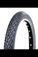 "Damco 12-1/2"" x 2-1/4"", Clincher Tire, Black"