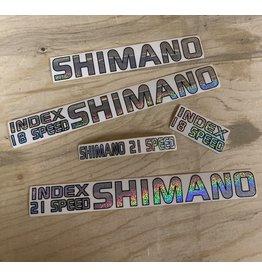 Shimano New Old Stock Shimano Decals