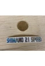 Shimano New Old Stock Shimano Stickers