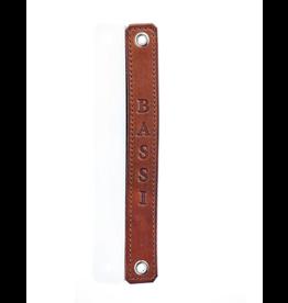 """Bassi Bassi Leather Frame Strap 9"""""""
