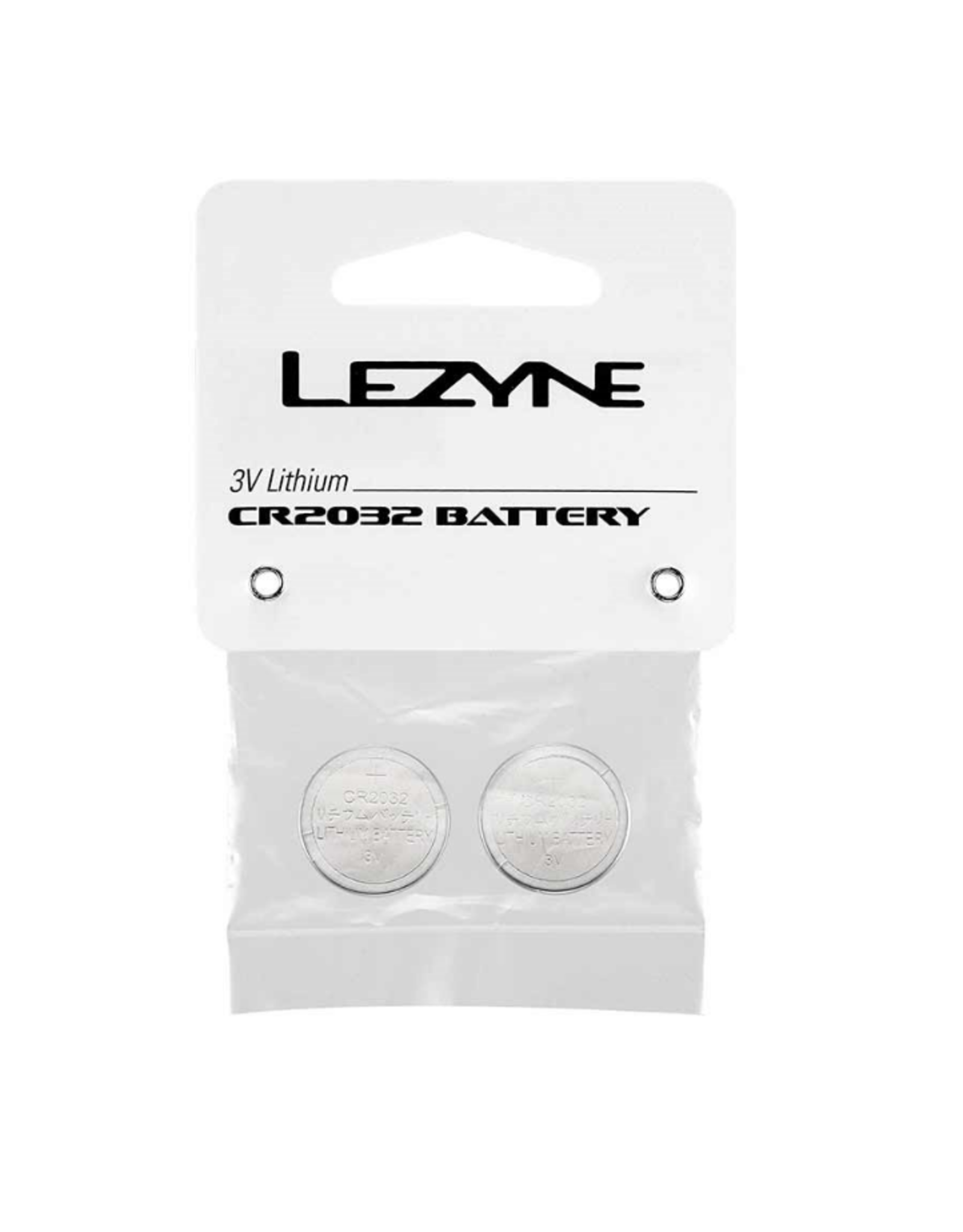 Lezyne Batteries, Pair - Lezyne CR2032 Batteries 2pcs
