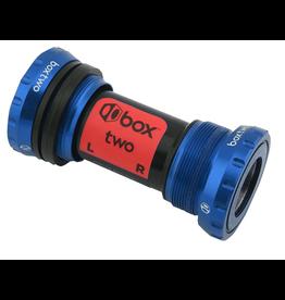 BOX Box Two 24mm Bottom Bracket (68/73mm) - Blue
