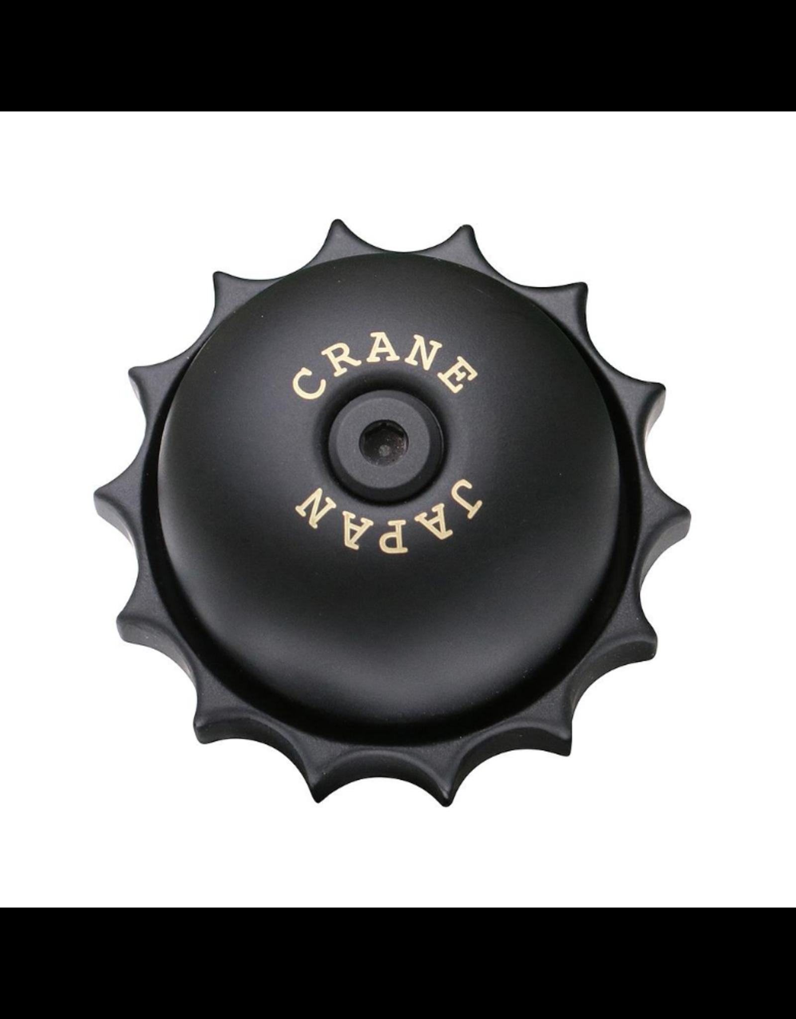 Crane Bell Co Crane E-Ne Revolver Brass Bell - Stealth Black