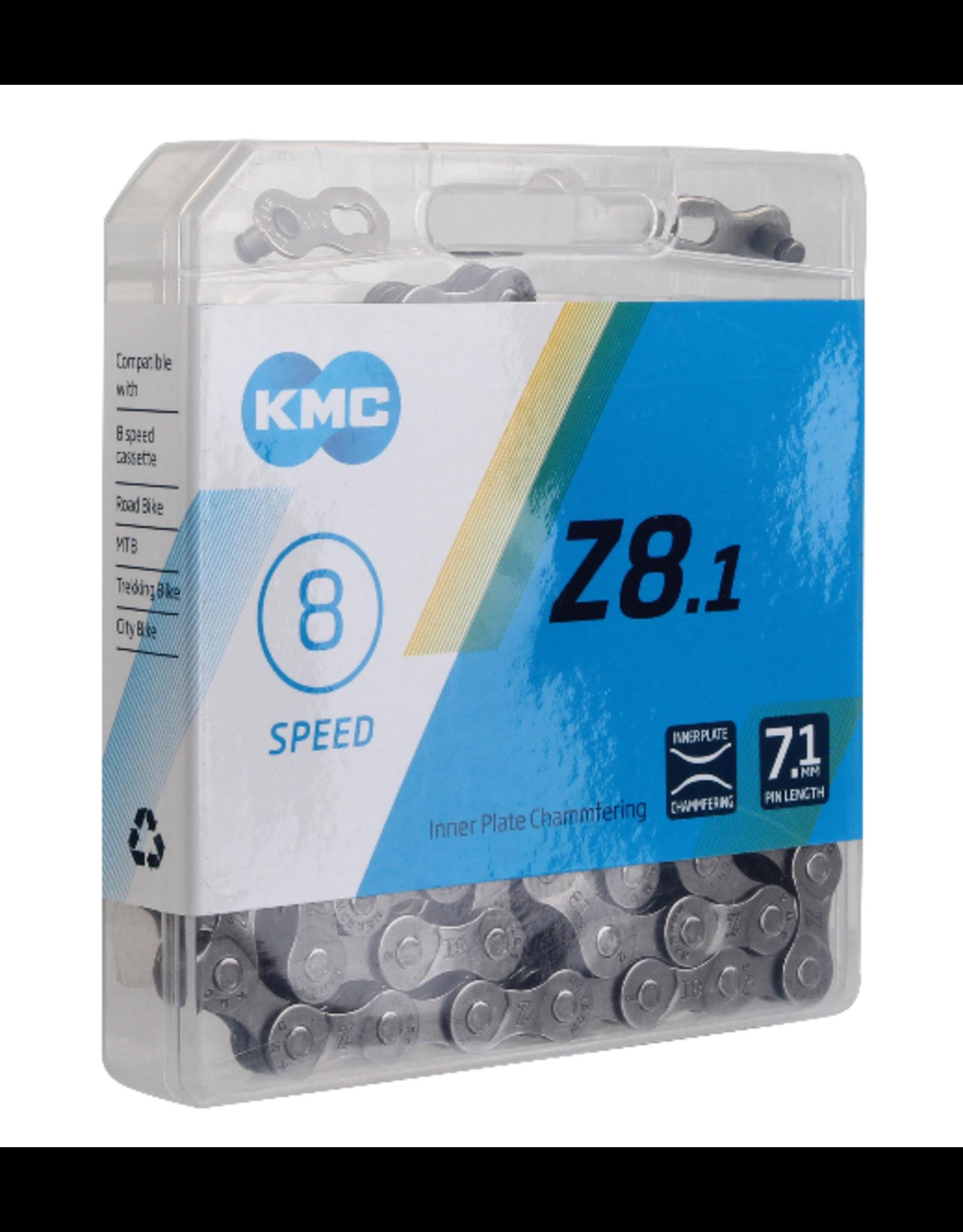 KMC KMC Z8.1 Chain - 7 or 8 speed Grey