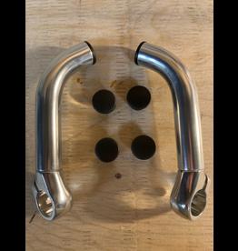 Zoom Aluminum bar end bullhorns