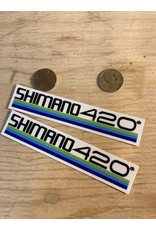 Natural Cycleworks Shimano 420 Tricolour Stickers
