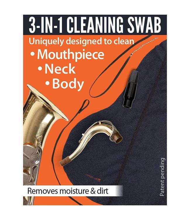 Protec Protec Body, Neck & Mouthpiece Swab: Tenor Saxophone