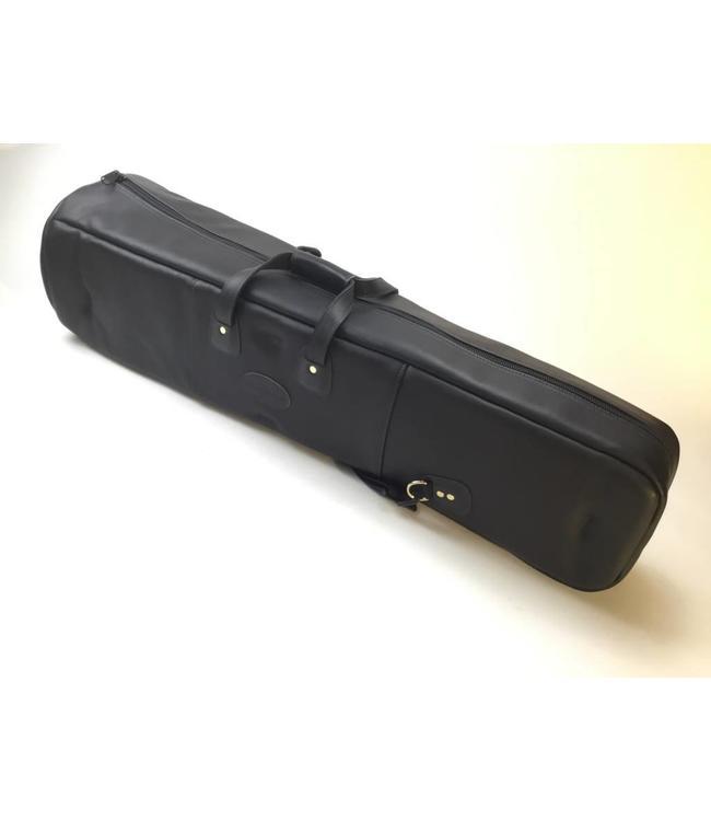 Cronkhite Used Cronkhite Large Tenor Trombone Case- Black, Leather