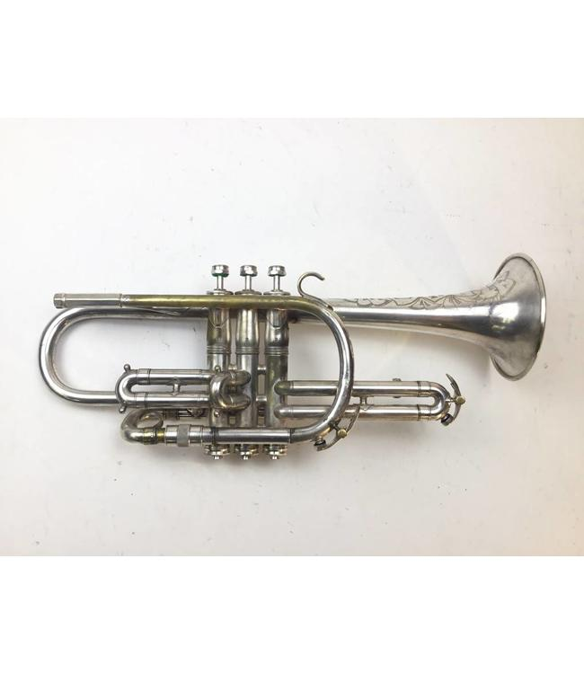 King Used King Master Model Bb Cornet