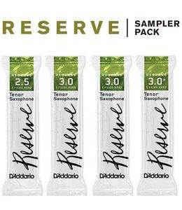 D'Addario D'Addario Reserve Reed Sampler Packs, Tenor Saxophone
