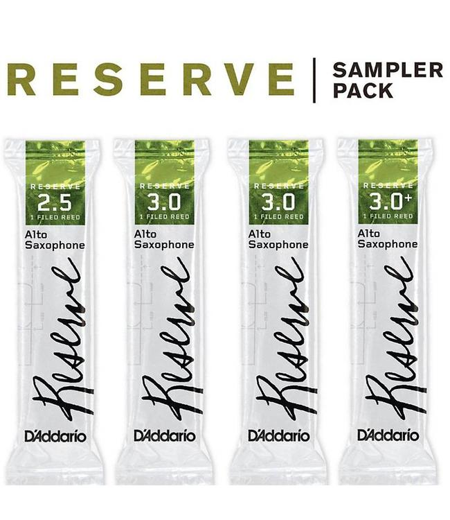 D'Addario D'Addario Reserve Reed Sampler Packs, Alto Saxophone