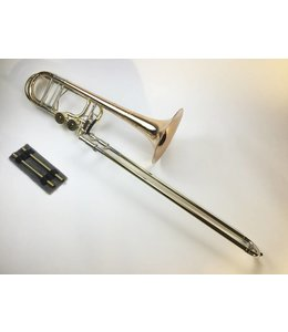 Shires Used Shires Bb/F/Gb/D Bass Trombone with Independent Trubore Valves