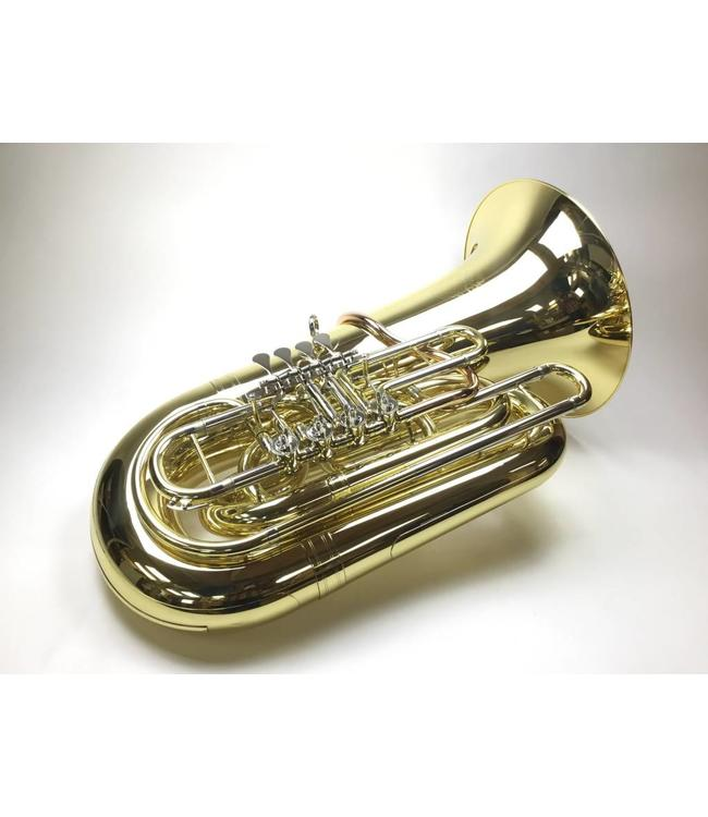 Dillon Music Dillon DBB-1284 BBb tuba in lacquer with case.