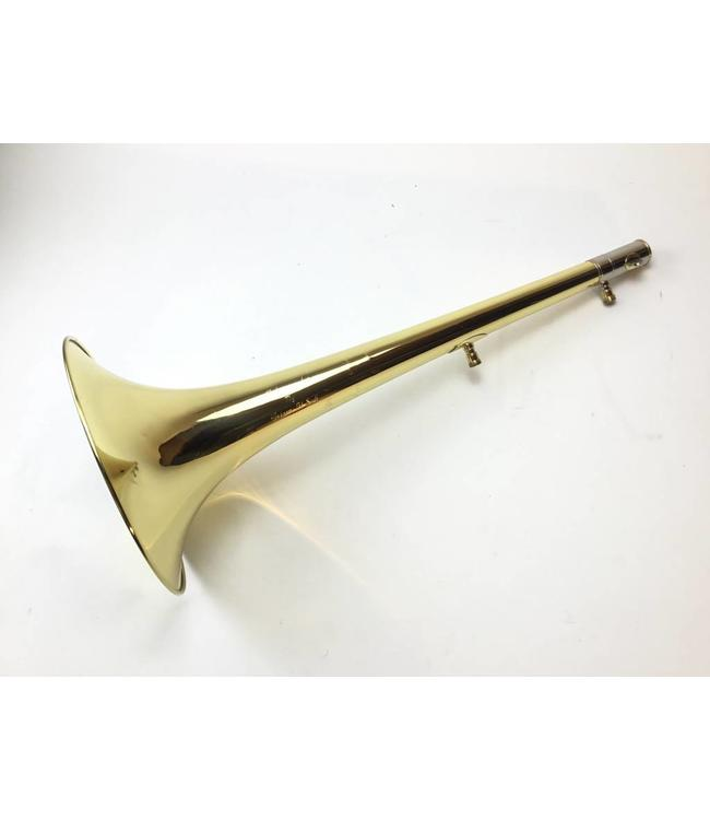 "Edwards Used Edwards 987 Lacquered 9.5"" Yellow Brass Bass Trombone Bell"
