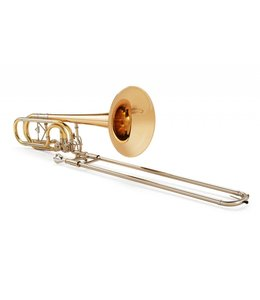 "Kuhnl & Hoyer Kuhnl and Hoyer Bb/F/Gb/D-Bass Trombone ""Orchestra symphonic"" with ""open flow""-valves"